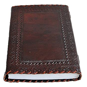 Genuine Leather Journal Vintage Antique Style Organizer Blank Notebook Secret Diary Daily Journal Personal Diary - Maroon