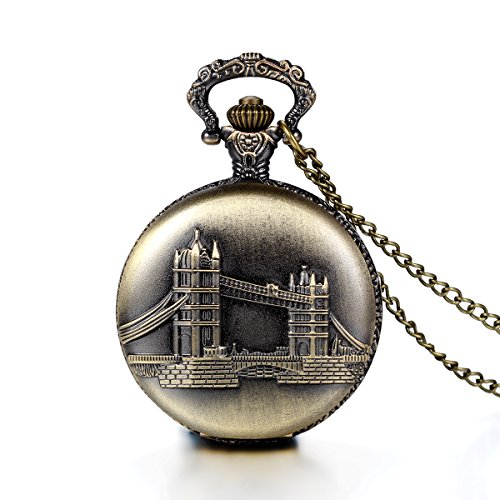 JewelryWe-Christmas-Gift-Retro-London-Bridge-Pattern-Bronze-Pocket-Watch-Steampunk-Locket-Sweater-Necklace-Pandant-with-Gift-Bag