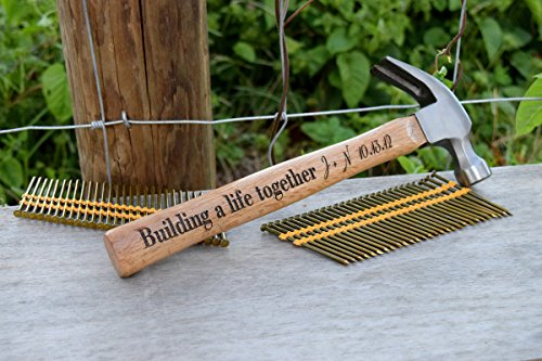 Engraved Hammer - Personalized Hammer Gift - Personalized Gift - Newly Wed Gift - Gift for Bride and Groom - Hammer Gift