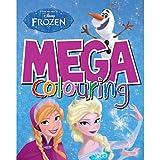 Disney - Frozen: El Reino del Nielo - Mega Colouring - Libro in Inglés para Colorear