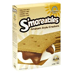 Kinnikinnick, Cracker Smoreable Grhm Wf, 8-Ounce (6 Pack)