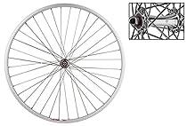 """Wheel Master Weinmann-LP18 Front Wheel - 27"""" x 1.0, 36H, QR, Silver"""