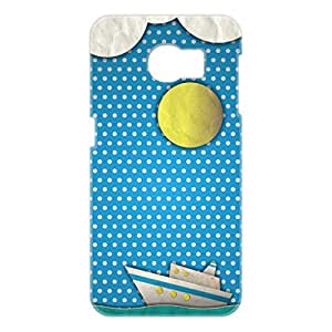 a AND b Designer Printed Mobile Back Cover / Back Case For Samsung Galaxy S6 Edge (SG_S6_3D_421)