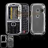 LG Cosmos VN250/Rumor2 LX265 Cell Phone Trans. Clear Protective Case Faceplate Cover