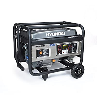 Hyundai GEN-HHD3500 3500-watt Portable Heavy Duty Power Generator