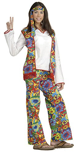 Hippie Dippie Woman Halloween Costume - Most Adults