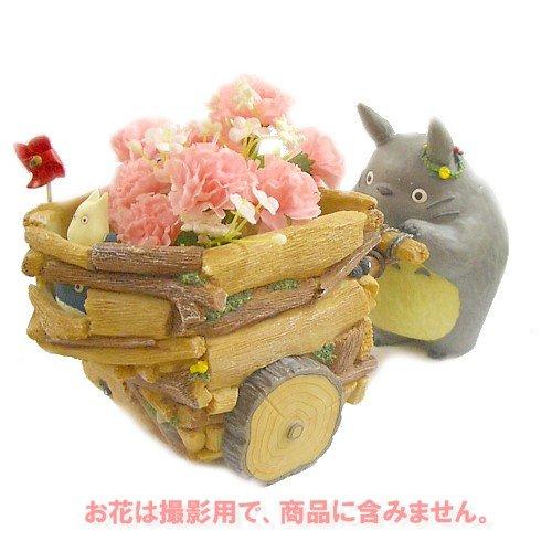 【ジブリプランター】となりのトトロ/お花ておしぐるま
