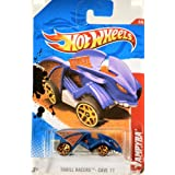 Hot Wheels 2010 - Mattel / Hot Wheels - Thrill Racers - Cave 11 - Vampyra - Blue & Orange - 2/6 - #206/244 - Out of Production... at Sears.com
