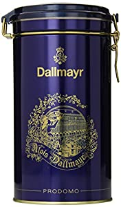 Dallmayr Prodomo Ground Coffee Gift Tin, Blue, 17.6 Ounce