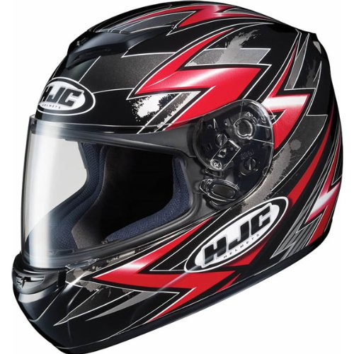 HJC Thunder Men&#8217;s CS-R2 On-Road Racing Motorcycle Helmet &#8211; MC-1 / Large