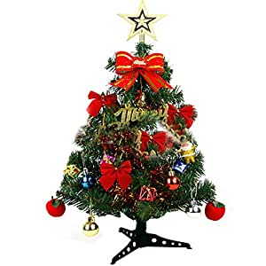 Awhao 60cm vert arbre de noel de noel decoration for Decoration de noel amazon