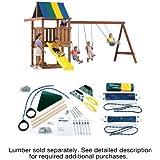 Swing-N-Slide Wrangler Custom DIY Play Set Hardware Kit