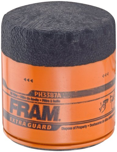 Fram PH3387A Extra Guard Passenger Car Spin-On Oil Filter, Pack of 1