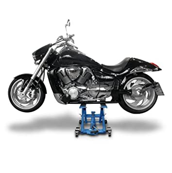 XVS 125//250//650 Drag Star YBR 125//Custom XVS 950//1300 A Midnight Star Motorcycle lift ConStands Mid-Lift L black for Yamaha XVS 650// A Drag Star Classic XVZ 1300 A Royal Star