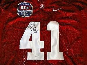 Courtney Upshaw Signed Alabama Jersey COA w  Roll Tide & BCS 2012 Patch - JSA... by Sports+Memorabilia