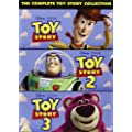 Toy Story 1-3 Box Set (DVD) (Region 2 Format DVD) [USA & CANADA BUYERS WILL REQUIRE MULTI REGION DVD PLAYERS FOR DISCS TO WORK IN THEIR COUNTRY]