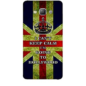 Skin4gadgets I CAN'T KEEP CALM I'm GOING TO HOLLYWOOD - Colour - UK Flag Phone Skin for SAMSUNG GALAXY A7 (A700)