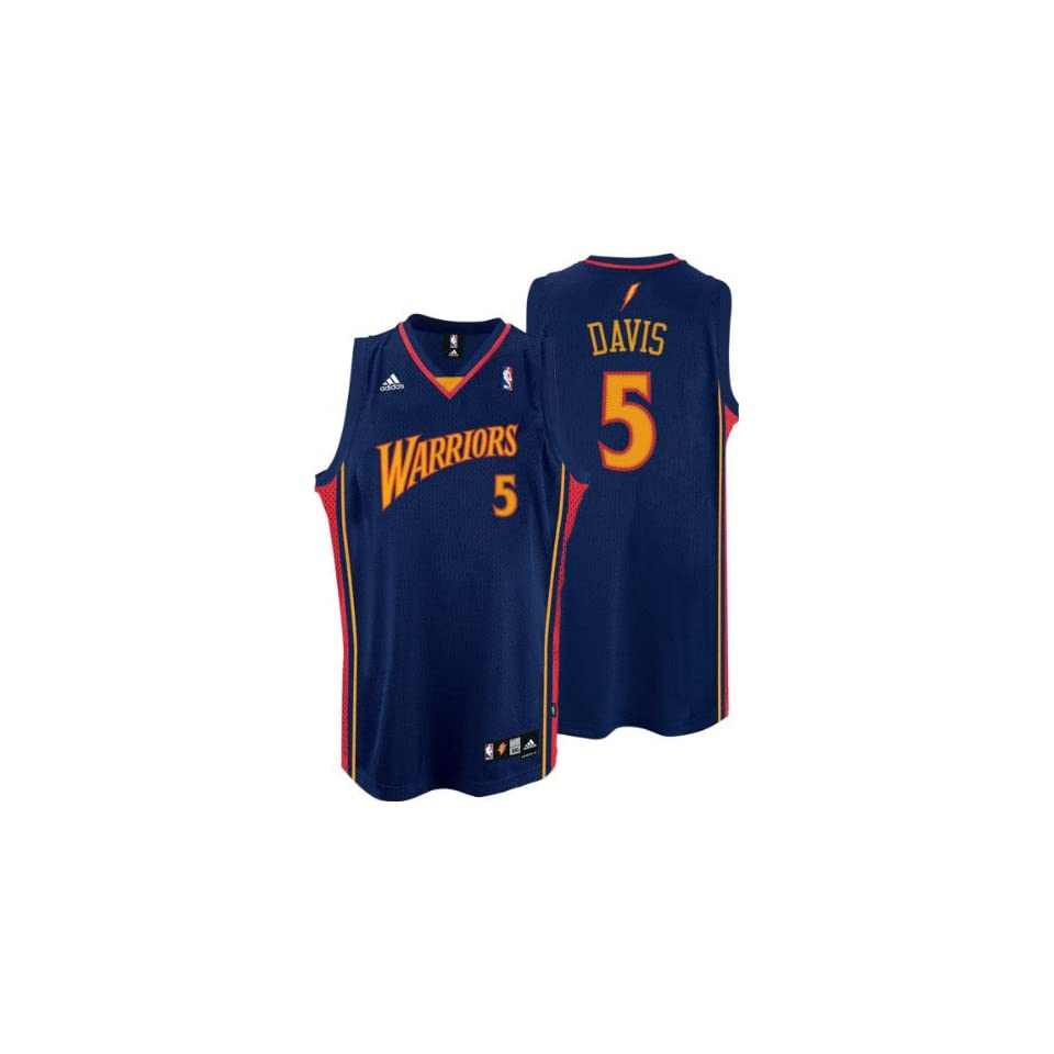 3cb9fccc948 Baron Davis Jersey adidas Navy Swingman #5 Golden State Warriors Jersey