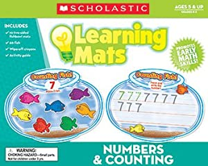 * NUMBERS & COUNTING LEARNING MATS