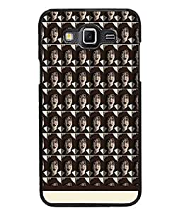PrintDhaba Face pattern D-1550 Back Case Cover for SAMSUNG GALAXY GRAND MAX (Multi-Coloured)