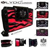 Genuine Ladies LYDC Tiger Stripes Vintage Clutch Wallet Purse With GIFT BOX