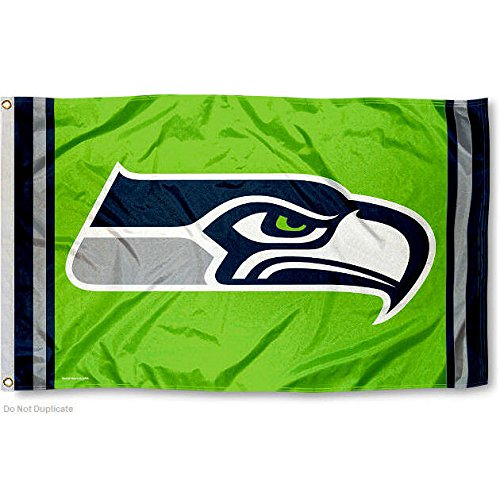 Seattle-Seahawks-Green-Flag-and-Banner