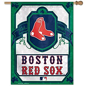 Boston Red Sox Official MLB 27 inch x 37 inch Banner Flag by Wincraft