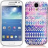 Nouveau Lotties cas dur de couverture coque pour le Samsung Galaxy S4 MINI i9190 Aztèque avec motif rétro - Retro VINTAGE & protection d'écran