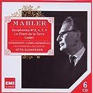 Mahler :  Symphonies n� 2, 4, 7, 9 - Le chant de la terre,  Lieder