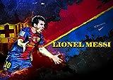 リオネル メッシ ポスターサイズ:42x30cm 写真 Lionel Messi FCバルセロナ Barcelona