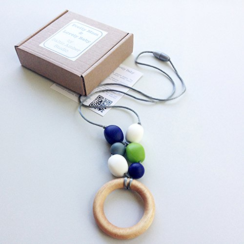 Teething-Ring-Designer-Necklace-GIFT-Box-Natural-Wood-Ring-Silicone-Jewelry