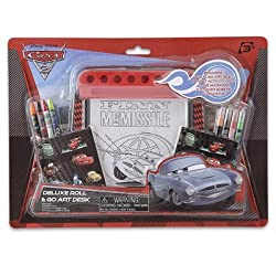 Disney Cars 2 Art Desk Deluxe Activity Set
