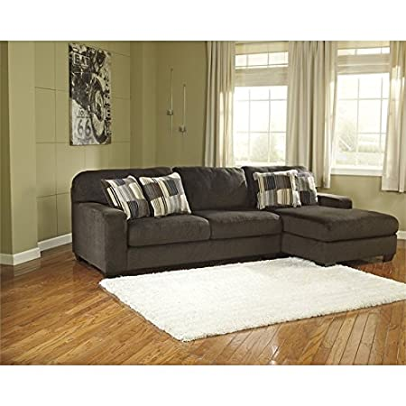 Ashley Furniture Westen 2 Piece Right Corner Sectional in Chocolate