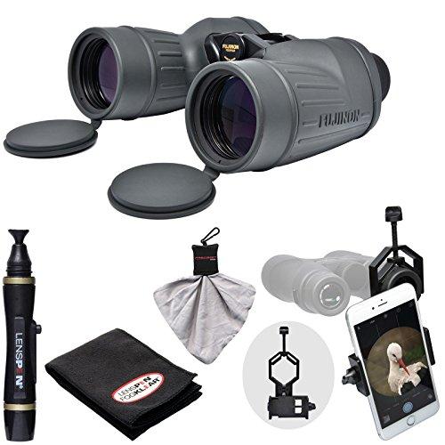 Fujifilm Fujinon Polaris 7x50 FMTR-SX Waterproof/Fogproof Binoculars with Smartphone Adapter + LensPen Cleaning Kit (Cameras Sx 50 compare prices)