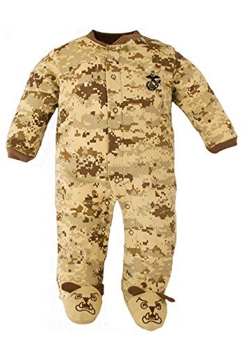US Marine Corps Camo Baby Bulldog Sleeper