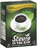 Stevia Sweetener In The Raw, 50-Count Packages (Pack of 12)