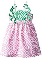 Mud Pie Little Girls' Crab Rope Dress