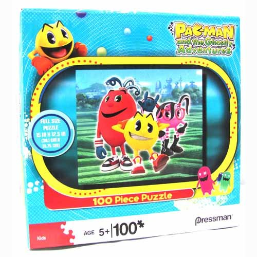 Pac-Man and the Ghostly Adventures: Pac-Man and the Gang 100 Piece Puzzle