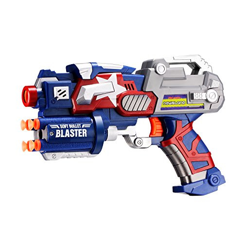 Newisland Big League Blaster Gun with Foam Darts and Dartboard