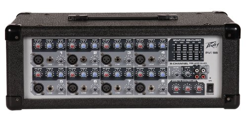 Peavey Pvi 8B 8 Channel Powered Mixer