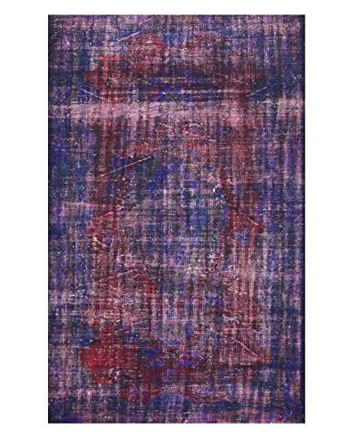 "nuLOOM One-of-a-Kind Hand-Knotted Vintage Turkish Overdyed Rug, Purple, 5' 7"" x 8' 9"""