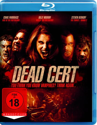 Dead Cert - You think you know Vampires? Think again... [Blu-ray]