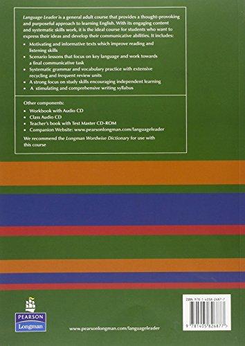 Language Leader Pre-Intermediate Coursebook and CD-ROM Pack