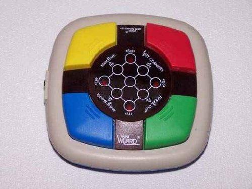 Mini Wizard Vintage Electronic Game (1987) - 1