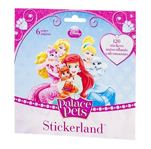 Stickerland Stickers Disney Palace Pets - 120 CT
