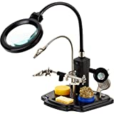 Elenco  Soldering Station with LED Illuminated Magnifying Lens and 3rd Helping Hand