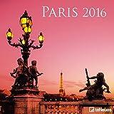 Paris 2016 - Städtekalender Broschürenkalender - 30 x 30 cm