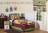 Jungle Time Children & Kids Bedding 3 pc Full / Queen Set by Sweet Designs Jojo