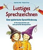 Lustiges Sprechzeichnen - Eine spielerische Sprachförderung: 24 Hexengeschichten und dazu