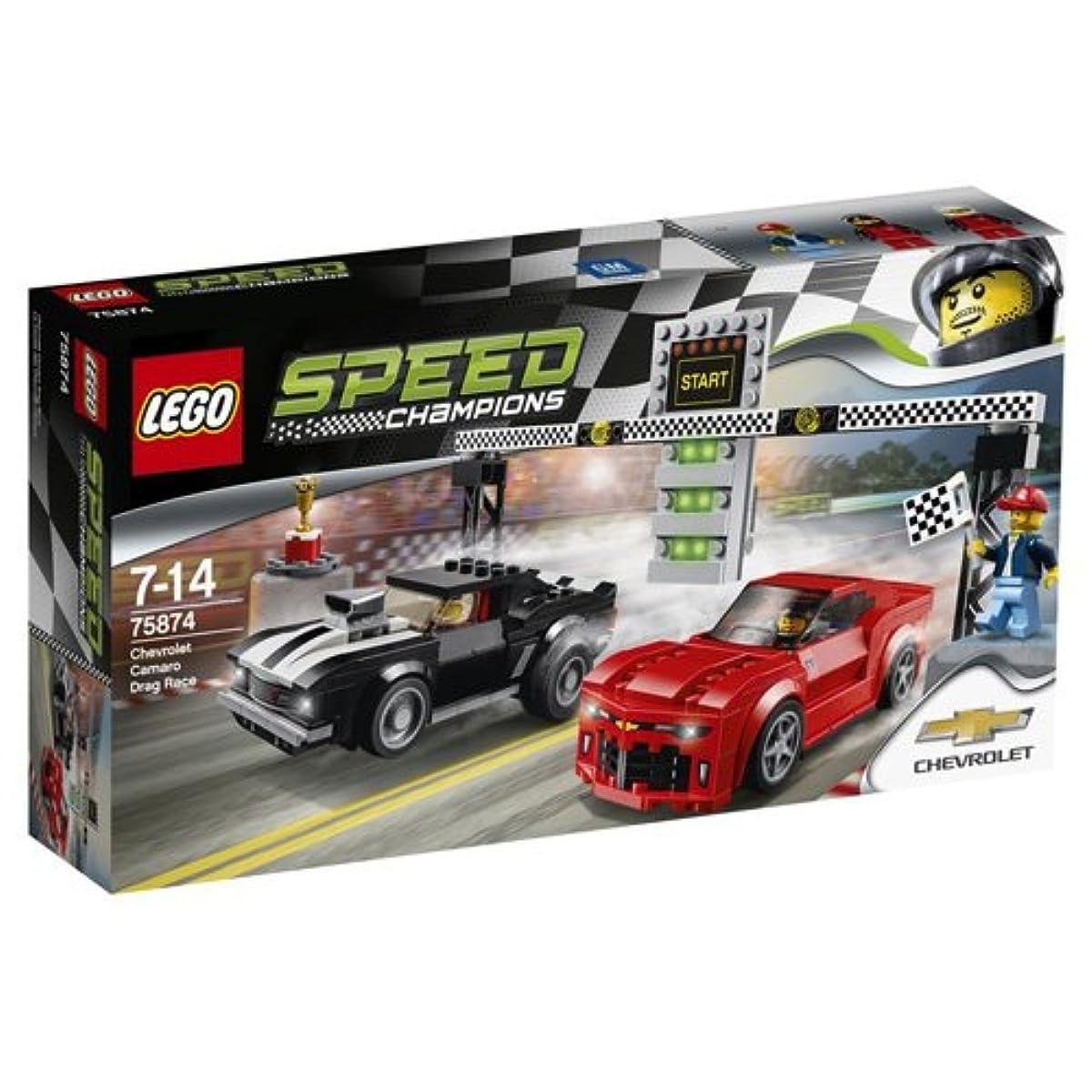 [해외] 레고 (LEGO) 스피드 챔피언 시보레 카마로 드래그 레이스 75874-75874 (2016-03-04)